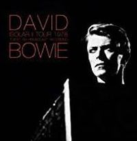 Cover David Bowie - Isolar II Tour 1978