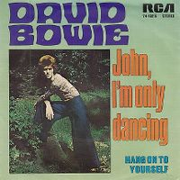 Cover David Bowie - John, I'm Only Dancing