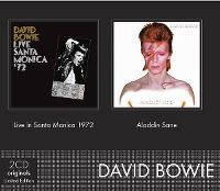 Cover David Bowie - Live In Santa Monica 1972 + Aladdin Sane