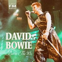 Cover David Bowie - Live In The 90's
