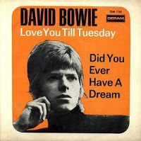 Cover David Bowie - Love You Till Tuesday