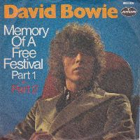 Cover David Bowie - Memory Of A Free Festival