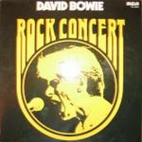 Cover David Bowie - Rock Concert