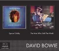 Cover David Bowie - Space Oddity + The Man Who Sold The World