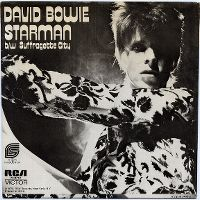 Cover David Bowie - Starman