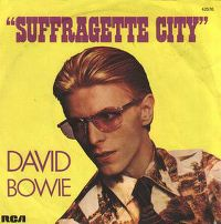 Cover David Bowie - Suffragette City