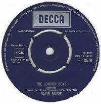 Cover David Bowie - The London Boys