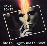 Cover David Bowie - White Light / White Heat