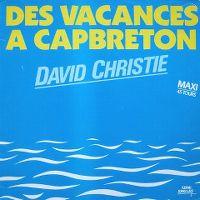 Cover David Christie - Des vacances à Capbreton