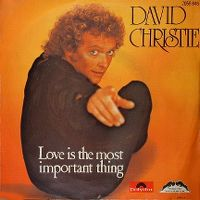 Cover David Christie - Love Is The Most Important Thing