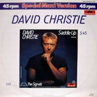 Cover David Christie - Saddle Up