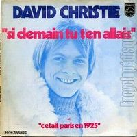Cover David Christie - Si demain tu t'en allais