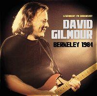 Cover David Gilmour - Berkeley 1984