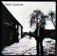 Cover David Gilmour - David Gilmour