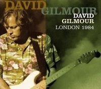 Cover David Gilmour - London 1984
