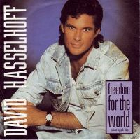 Cover David Hasselhoff - Freedom For The World