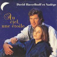 Cover David Hasselhoff et Nadège - Au ciel, une étoile