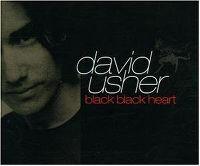 Cover David Usher - Black Black Heart