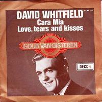 Cover David Whitfield with Mantovani & His Orchestra - Cara mia