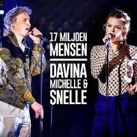 Cover Davina Michelle & Snelle - 17 miljoen mensen