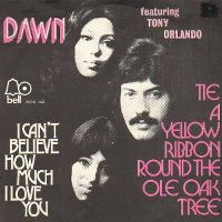 Cover Dawn feat. Tony Orlando - Tie A Yellow Ribbon Round The Ole Oak Tree