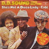 Cover D.D. Sound - She's Not A Disco Lady