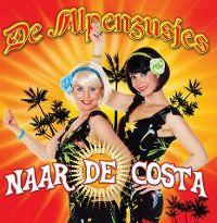 Cover De Alpenzusjes - Naar de Costa