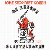 Cover De Leidse Sleutelgaten - Joke stop met koken