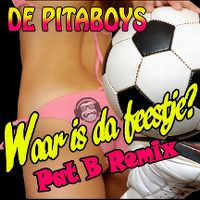 Cover De Pitaboys - Waar is da feestje?