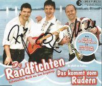 Cover De Randfichten - Das kommt vom Rudern