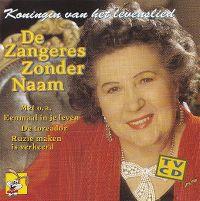 Cover De Zangeres Zonder Naam - Koningin van het levenslied