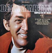 Cover Dean Martin - Gentle On My Mind