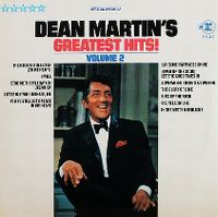 Cover Dean Martin - Greatest Hits Volume 2