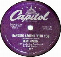 Cover Dean Martin - Hanging Around With You