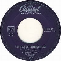 Cover Dean Martin - I Can't Give You Anything But Love