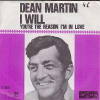 Cover Dean Martin - I Will