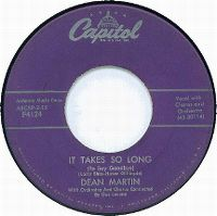 Cover Dean Martin - It Takes So Long (To Say Goodbye)