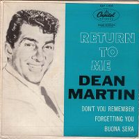 Cover Dean Martin - Return To Me (Ritorna a me)