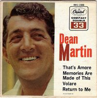 Cover Dean Martin - That's Amore