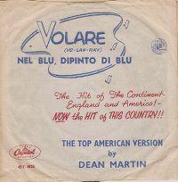 Cover Dean Martin - Volare (nel blu dipinto di blu)