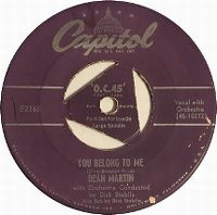 Cover Dean Martin - You Belong To Me