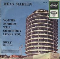 Cover Dean Martin - You're Nobody 'Till Somebody Loves You