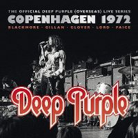 Cover Deep Purple - Copenhagen 1972