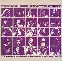 Cover Deep Purple - In Concert