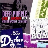 Cover Deep Purple - Live In Aachen 1970 - Official Archive Collection