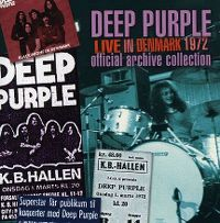 Cover Deep Purple - Live In Denmark '72