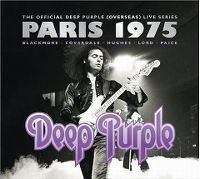 Cover Deep Purple - Live In Paris 1975 - La dernière séance