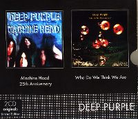 Cover Deep Purple - Machine Head + Who Do We Think We Are