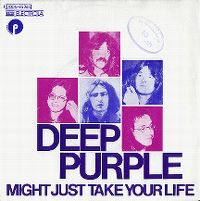 Cover Deep Purple - Might Just Take Your Life