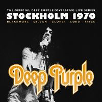 Cover Deep Purple - Stockholm 1970